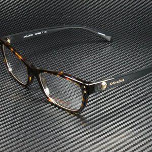 COACH Black 53mm Eyeglasses